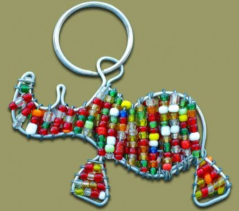 beaded-key-ring-rhino[1]